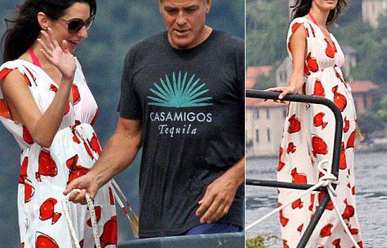 Амаль Клуни беременность, Джордж Клуни дети