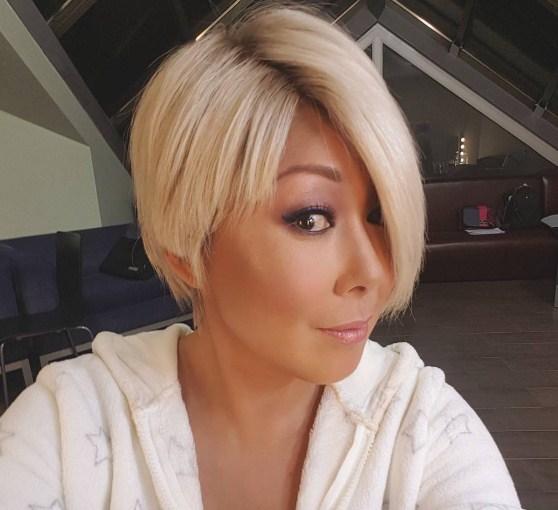 Анита Цой блондинка. ФОТО