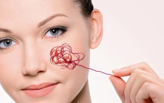 Купероз: покраснения и сосуды на лице