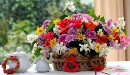 Примеры оригинальных цветочных композиций
