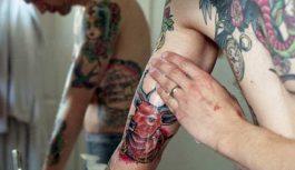 Как ухаживать за татуировкой правильно